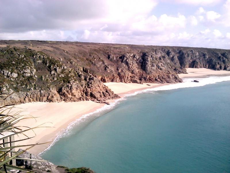 beaches at Porthcurno
