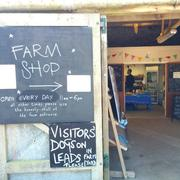 Bosavern Farm shop