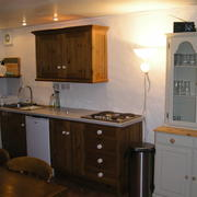 Kernyk holiday cottage kitchen