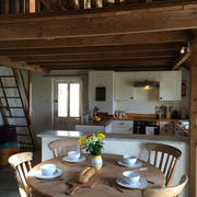 Holiday cottage kitchen Porthcurno