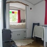 Interior of the Shepherd's Hut